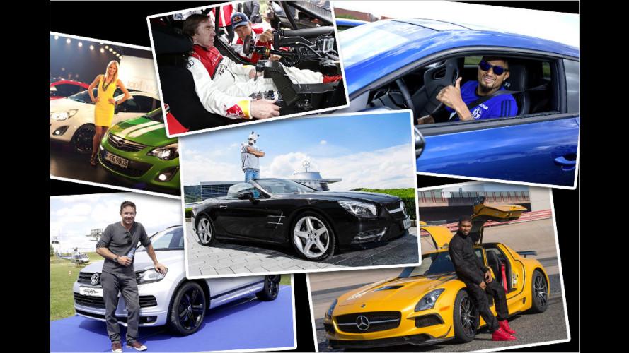 Prominente und ihre Autos