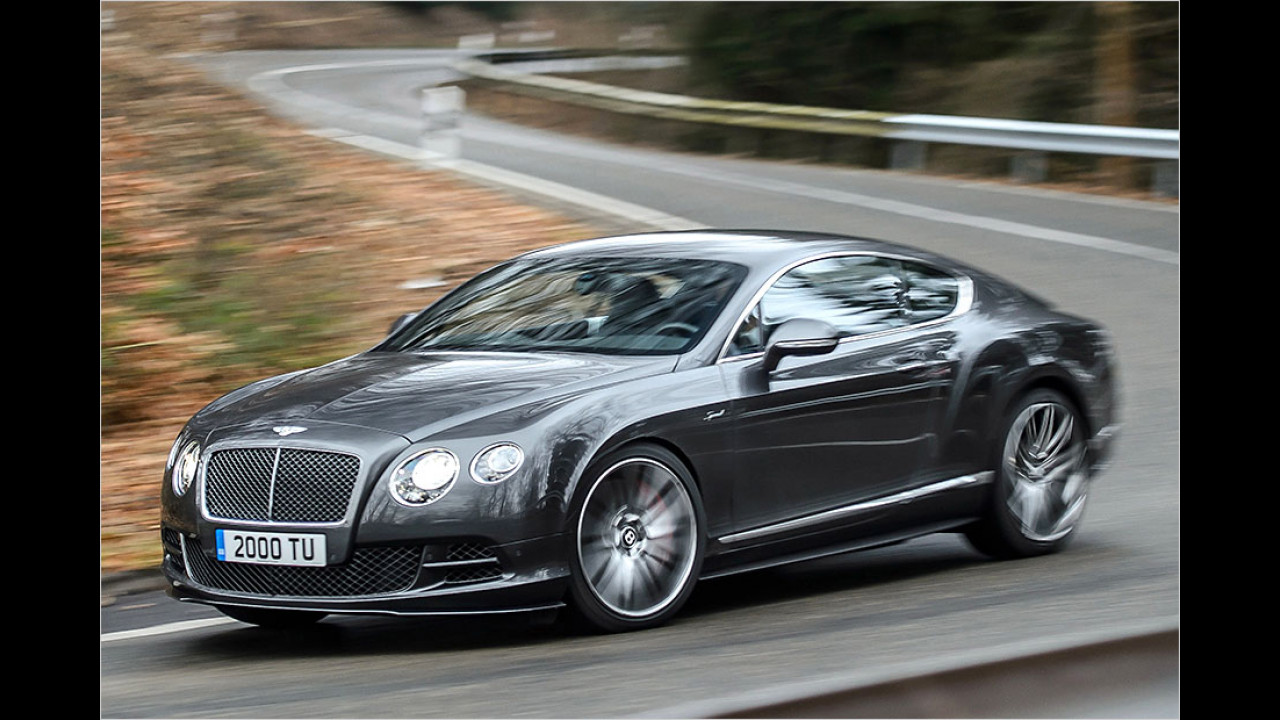 Bentley im Continental GT Speed W12