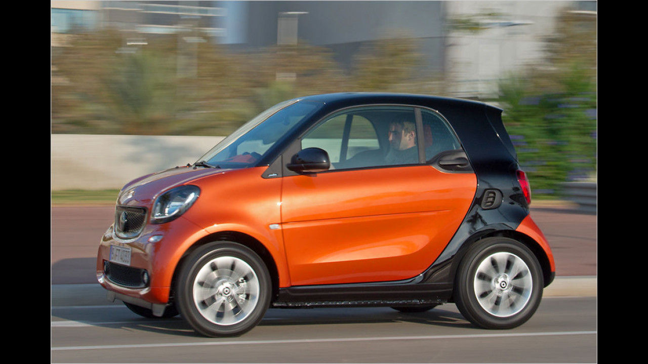 Kleinstwagen: Smart Fortwo Coupé 0.9 Turbo Twinamic