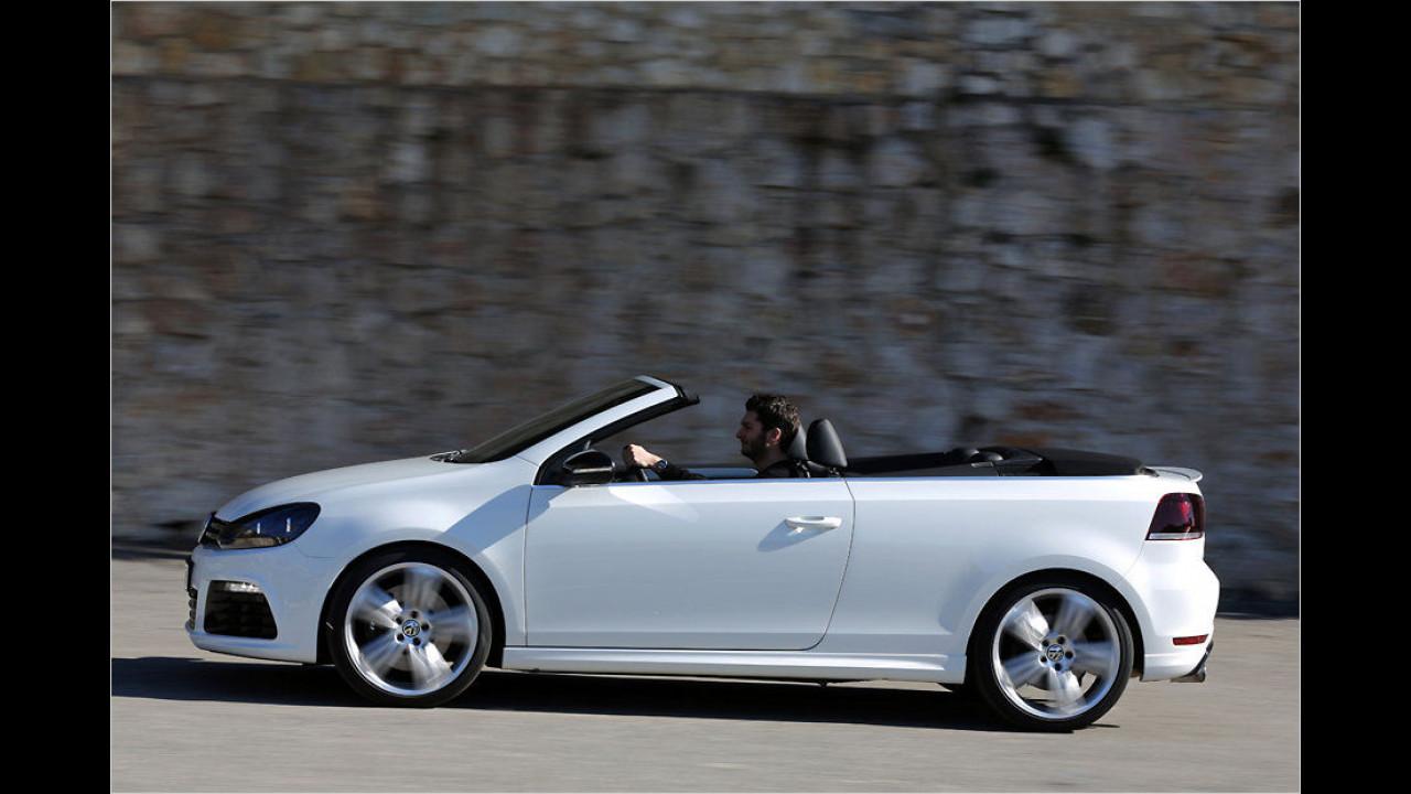 VW Golf R Cabriolet: 265 PS
