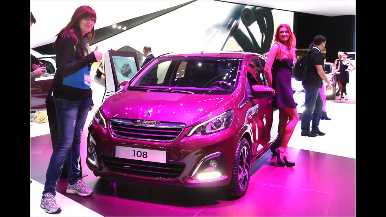 Top: Peugeot 108