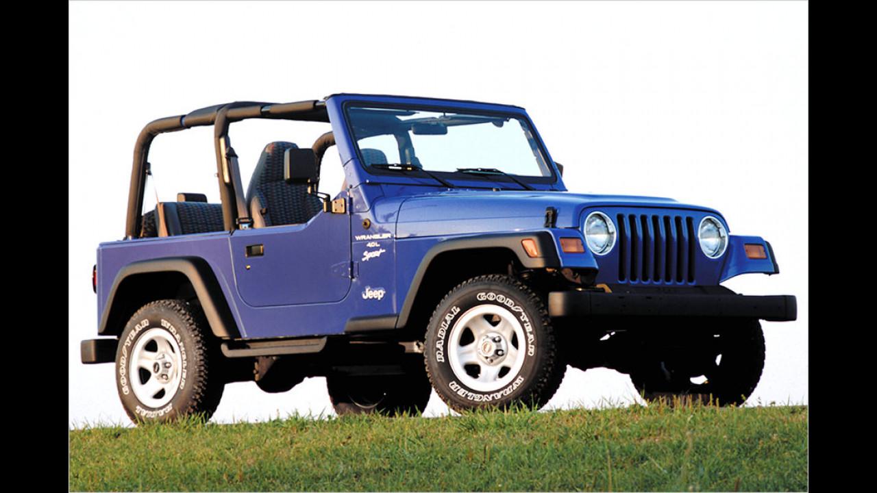 Jeep Wrangler (TJ): 1997-2006
