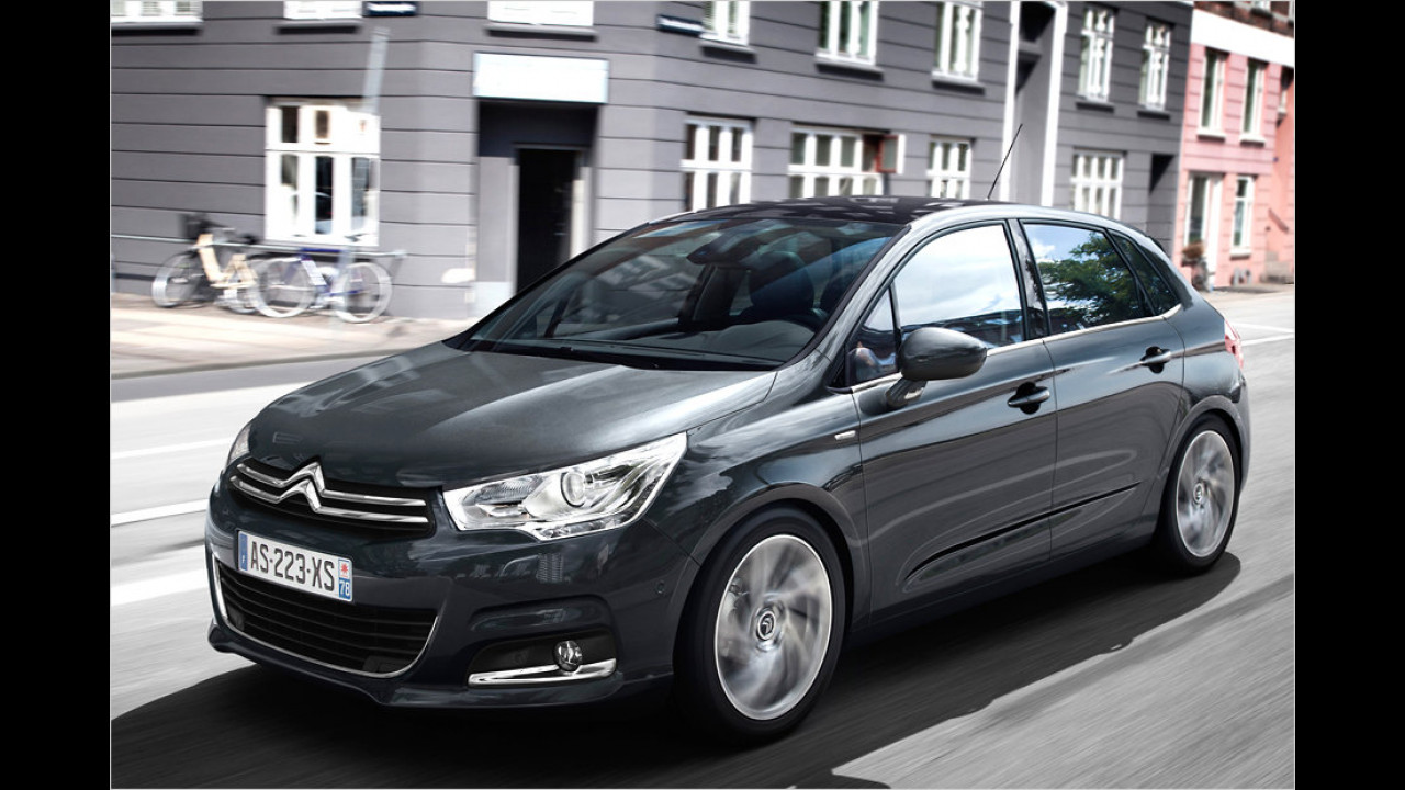 Citroën C4 e-Hdi 110: + 35,5 Prozent