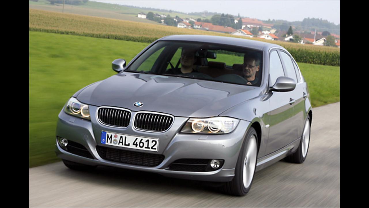 Platz zehn: BMW 335d