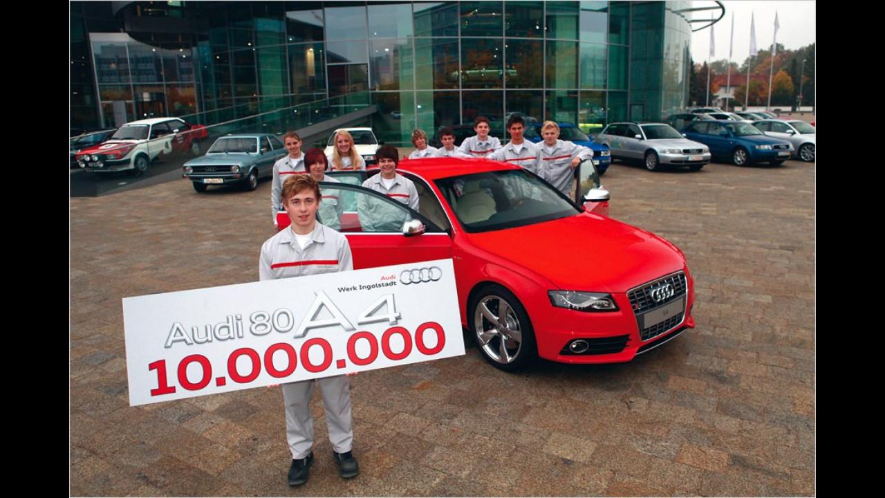 Zehn Millionen Audi 80/A4