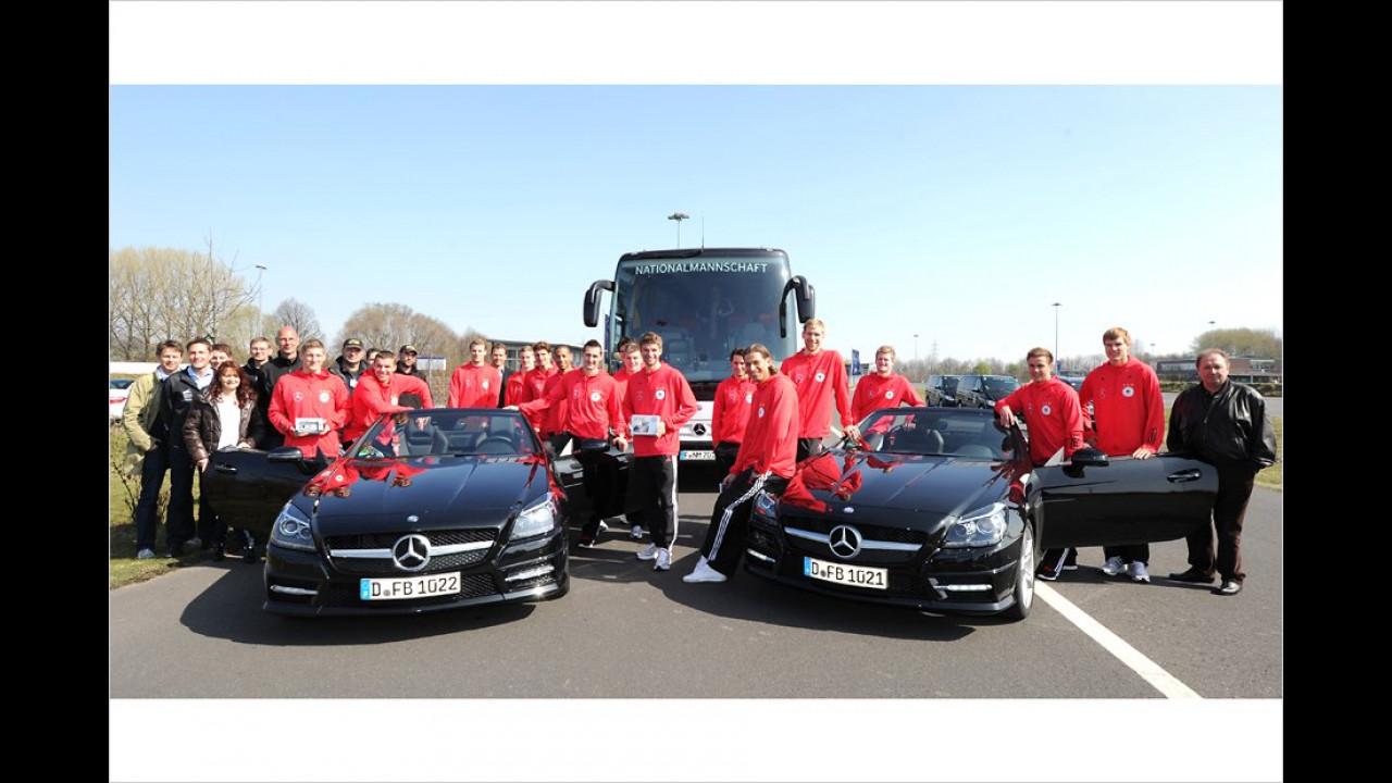 Deutsche Nationalmannschaft: Mercedes SLK