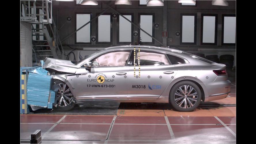 EuroNCAP-Crashtest (2017): Sieben neue Modelle