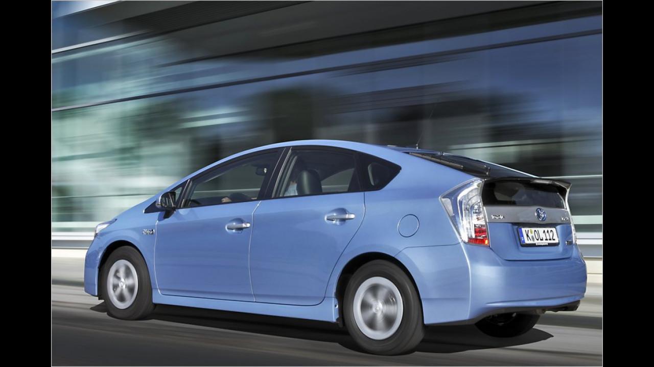 Die besten Familien-Autos, Platz 1: Toyota Prius Hybrid, 7,53 Punkte
