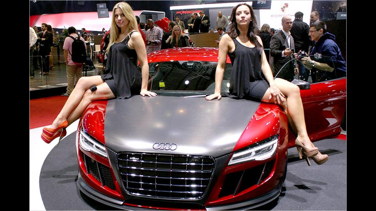 Hier sitzen nicht alle in einem Boot, sondern zweie auf einem Audi