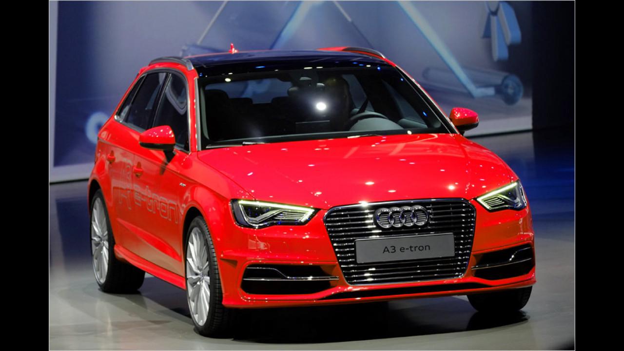 Audi steckt den Stecker rein