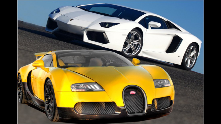 Zehn Autos für Lotto-Millionäre