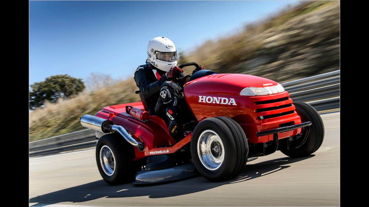 Honda mäht alle weg