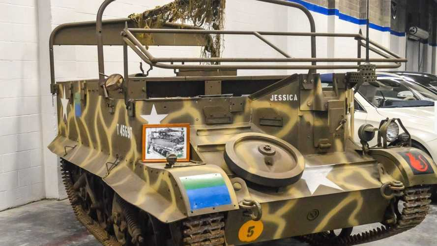 Hunker Down In This 1947 Ford T16 Universal Carrier Army Tank