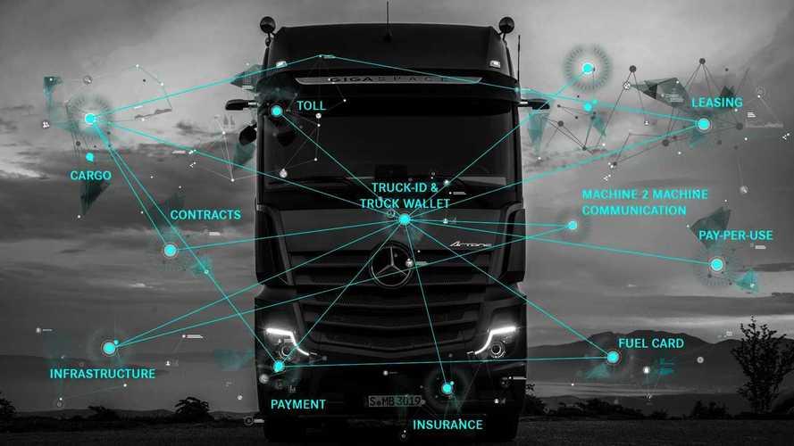 Con il Daimler Truck-ID digitale il camion pagherà da solo