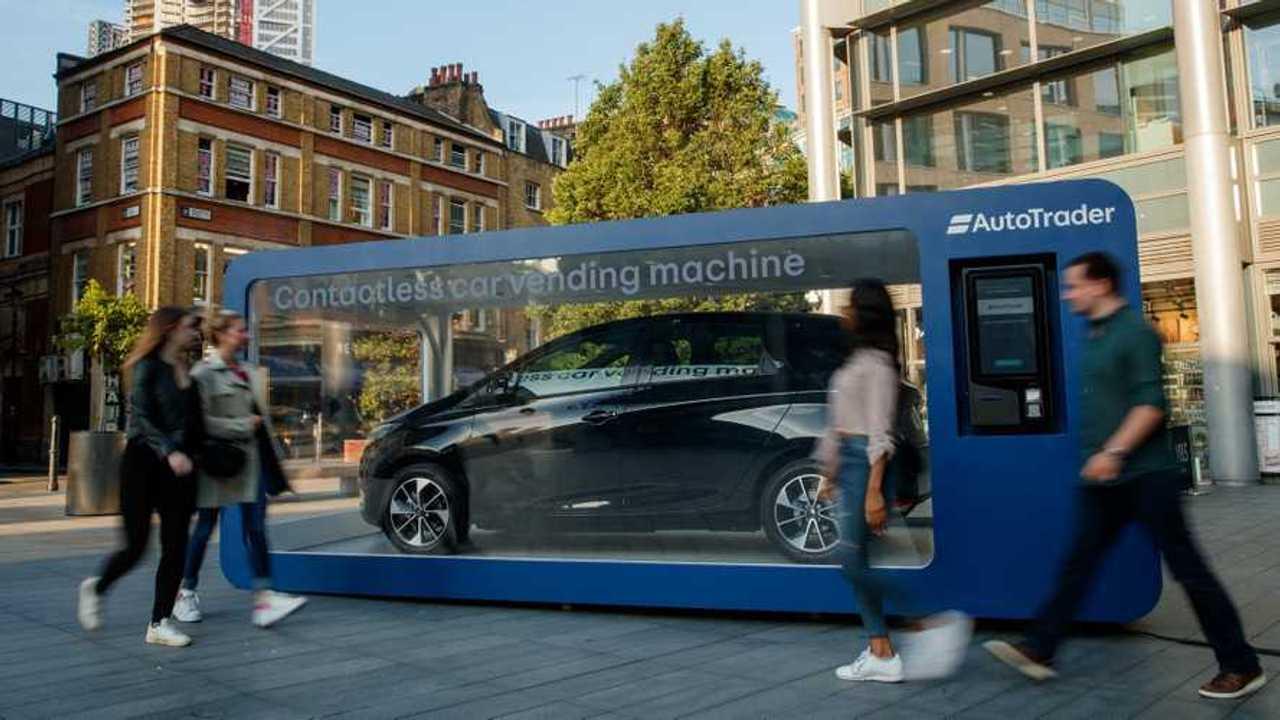 Renault Zoe, a Londra si compra dal distributore automatico