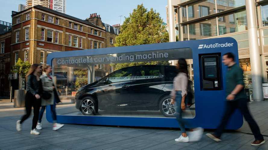 Un distributeur automatique de Renault Zoé à Londres