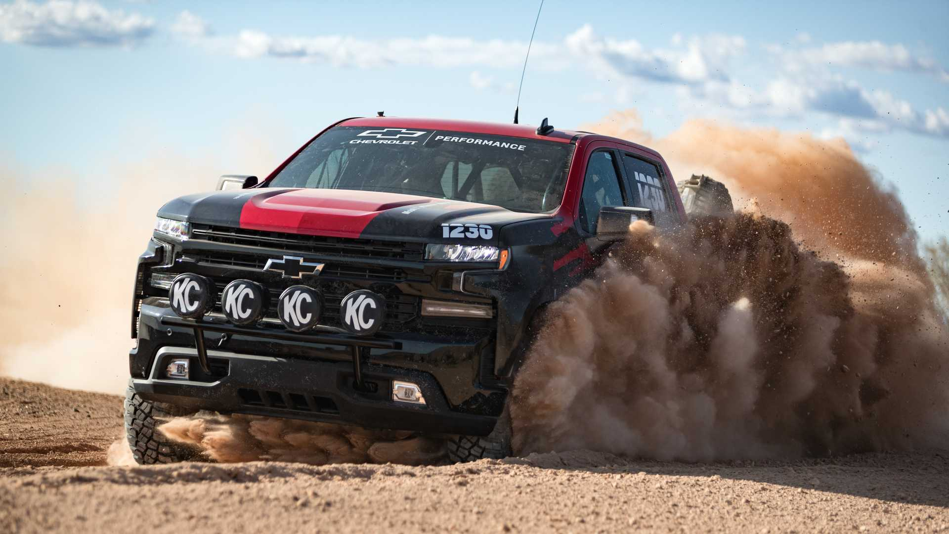 Off Road Ready Chevy Silverado Could Preview Hot Zr2 Version