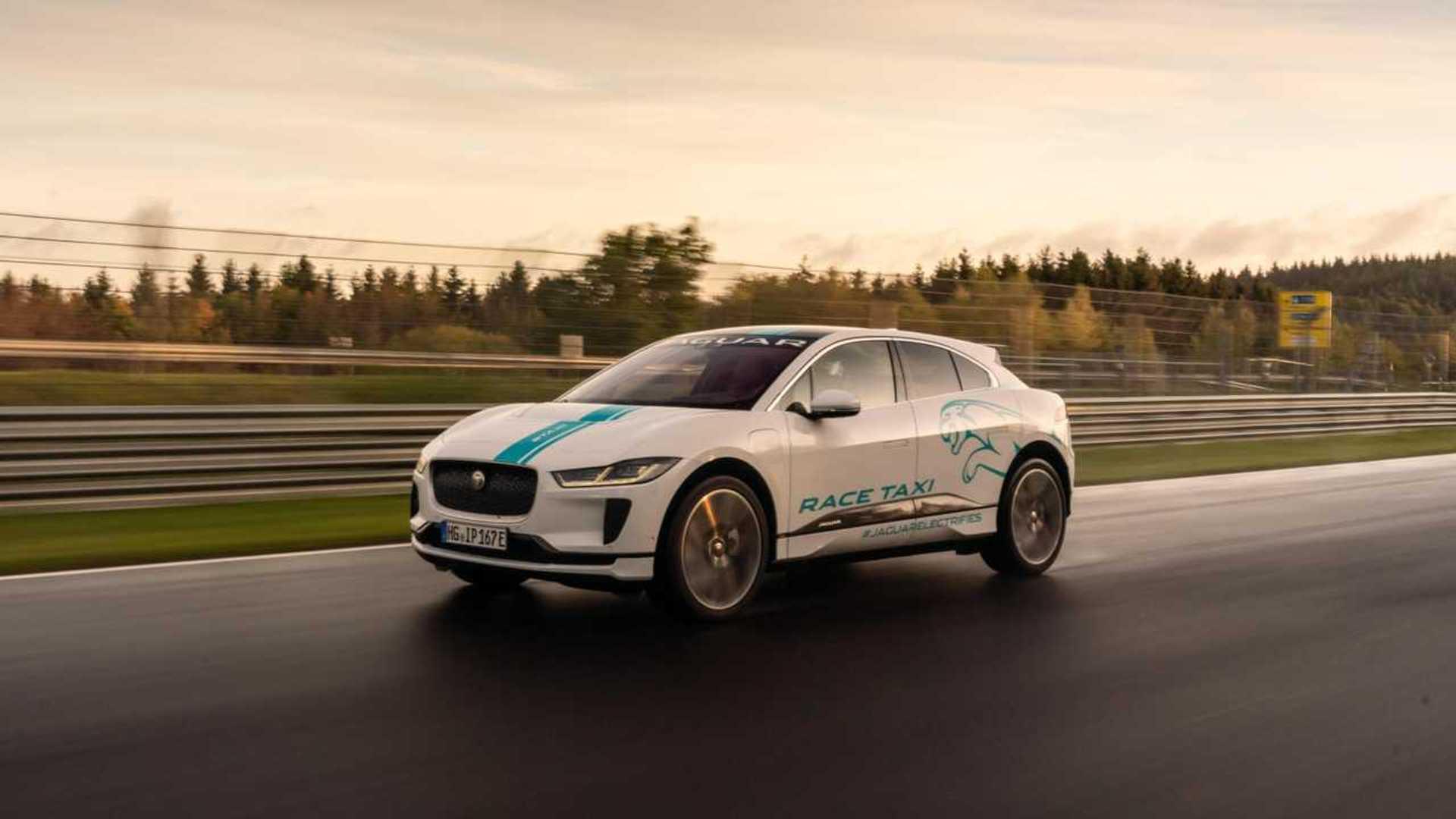 Jaguar Launches I-PACE RACE eTAXI At The Nürburgring