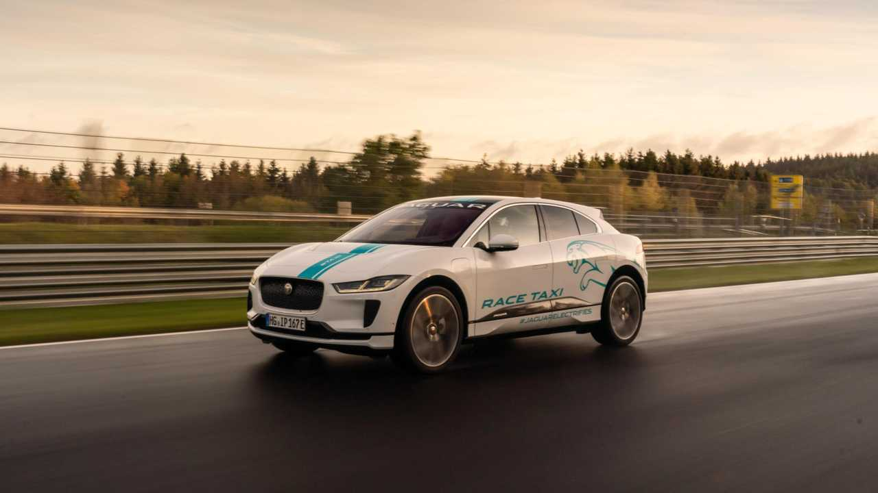 Jaguar I-PACE is the first all-electric RACE eTAXI