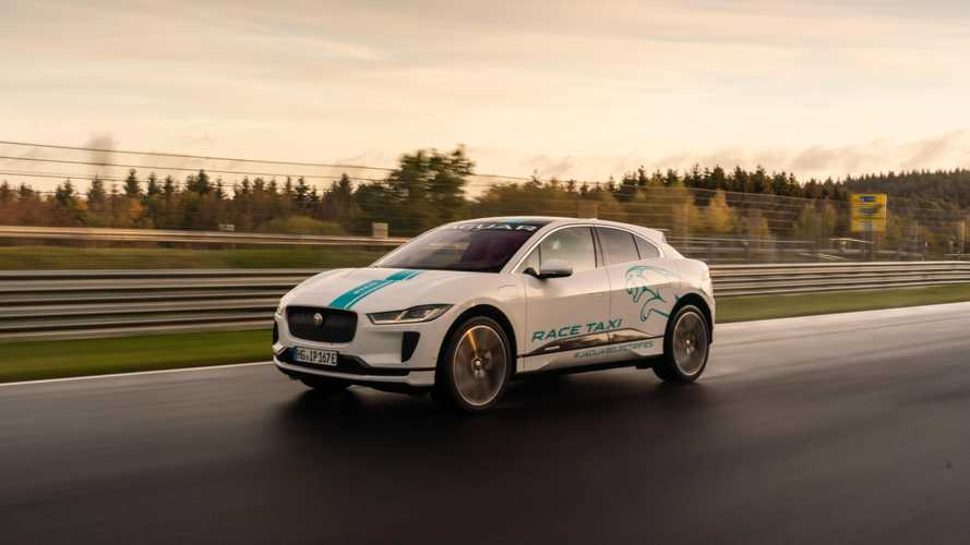 Jaguar Launches I-PACE RACE eTAXI At The Nürburgring