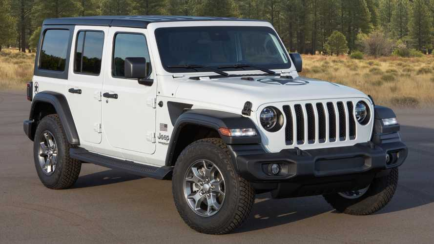 2020 Jeep Wrangler Freedom Edition Debuts With A Patriotic Body