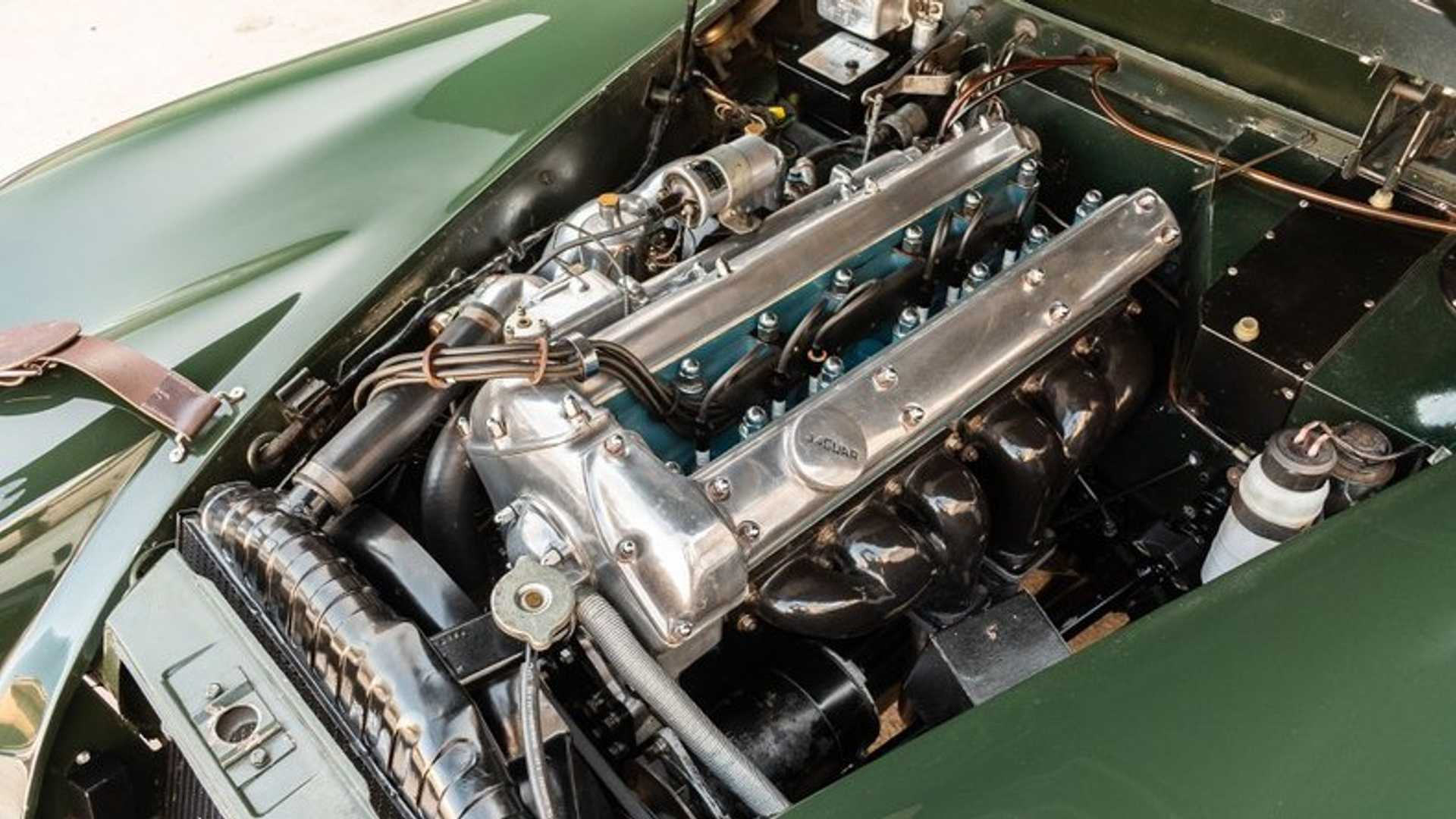 """[""""For $87K, This Classy 1961 Jaguar XK150 Is Ready To Prowl""""]"""