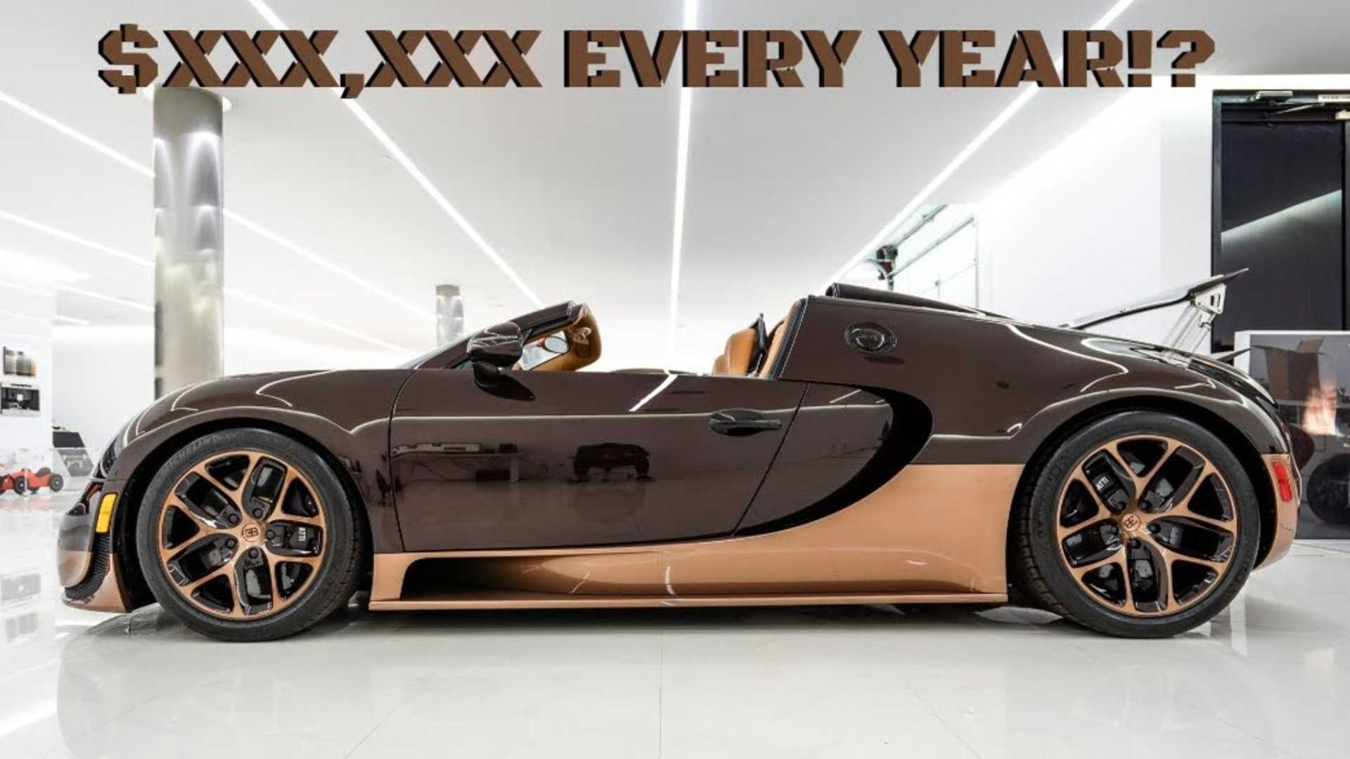 Bugatti Veyron Owner Reveals The Insanely High Maintenance Costs