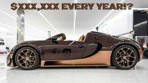 bugatti veyron prix entretien