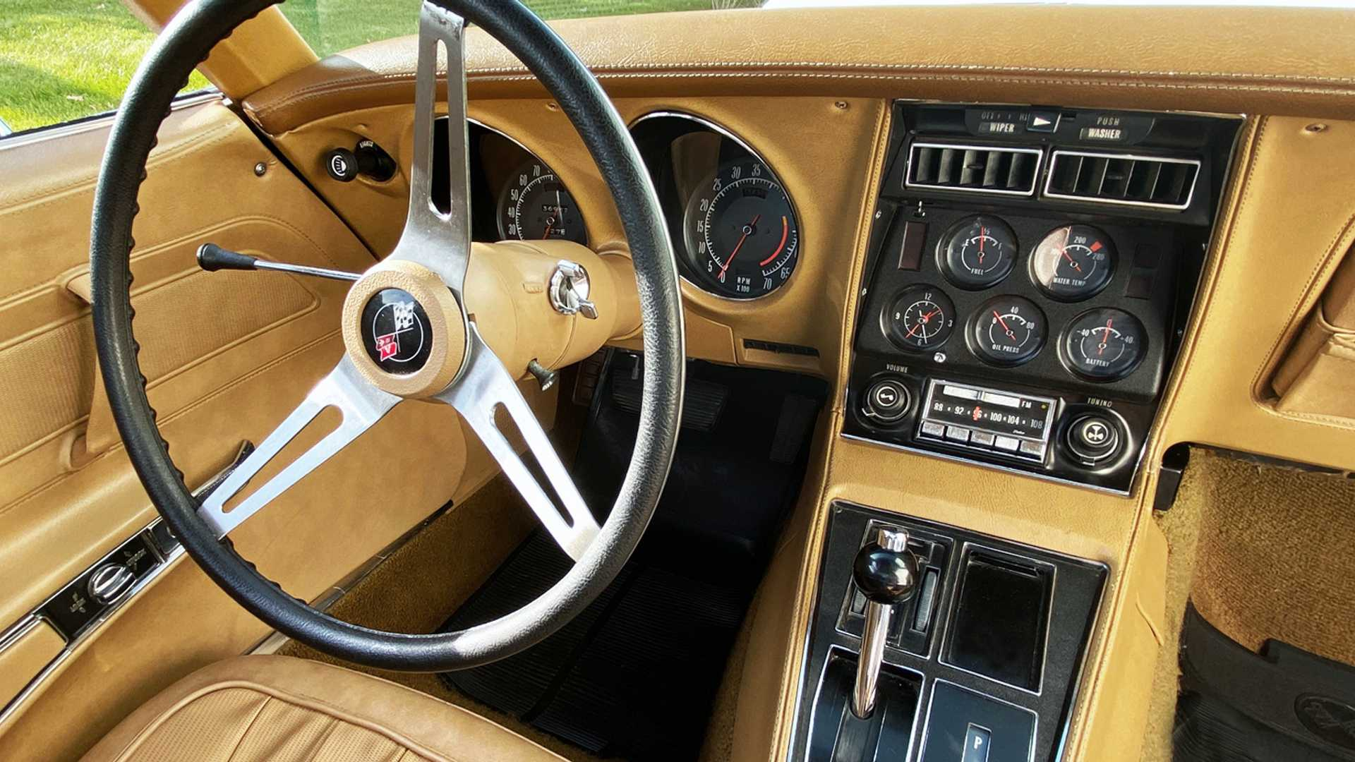 """[""""Saddle Up With This Low-Mileage 1974 Chevrolet Corvette""""]"""