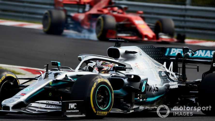 Mercedes worked 'straight through the summer break'