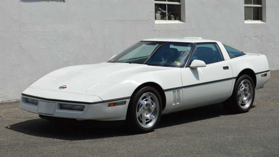 Babied 1990 Chevrolet Corvette For Sale Has Rare Interior