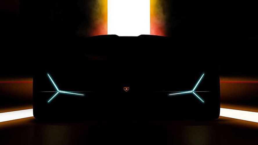 Lamborghini muestra imagen misteriosa antes del Auto Show de Fráncfort
