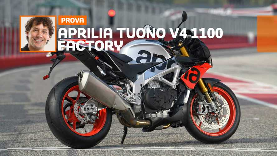 Aprilia Tuono V4 1100 Factory – TEST