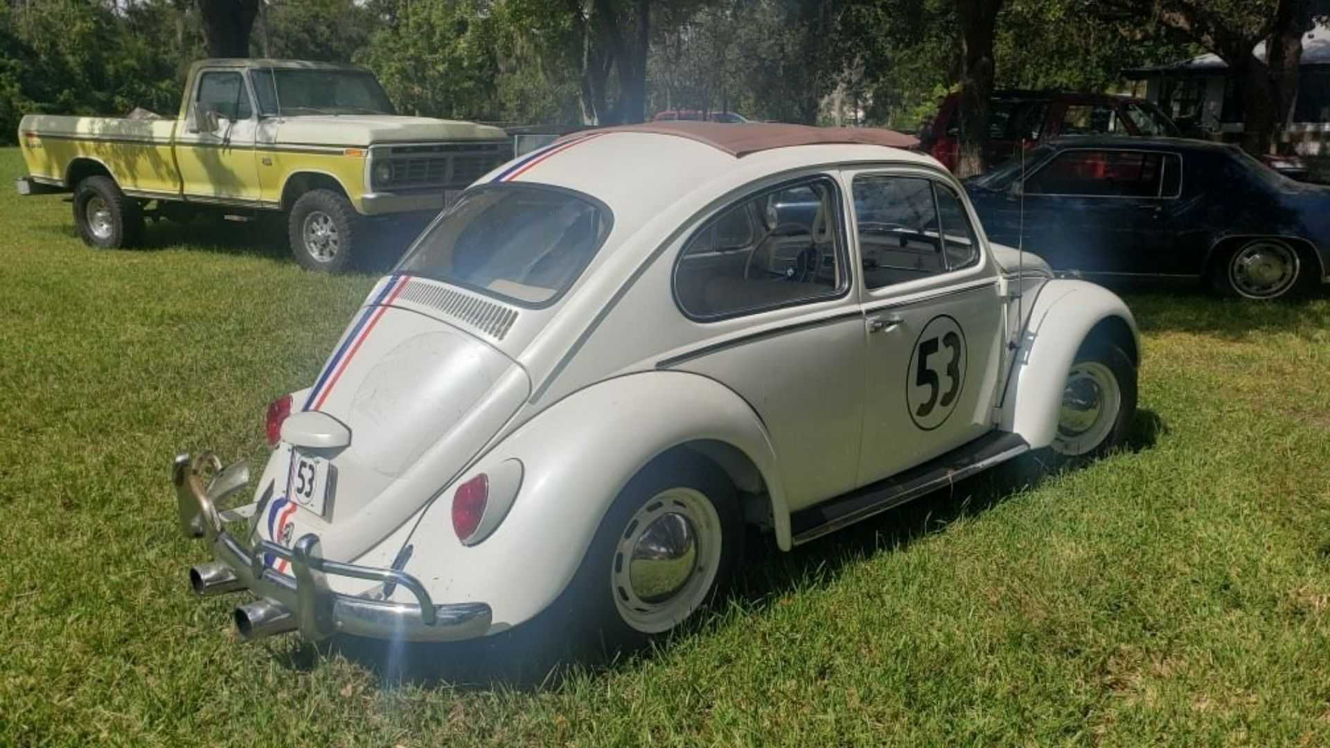 "[""Place A Bid On This 1968 Volkswagen Beetle Herbie Tribute""]"