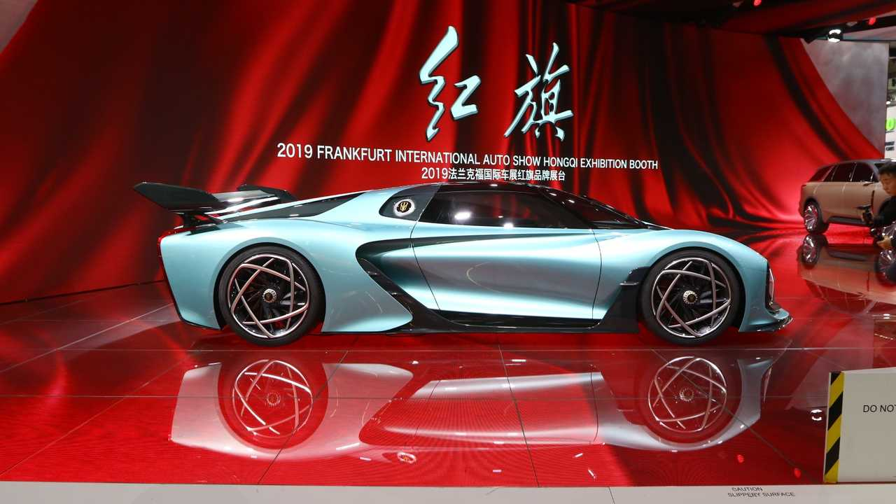 Hongqi S9 en el salón de Frankfurt 2019