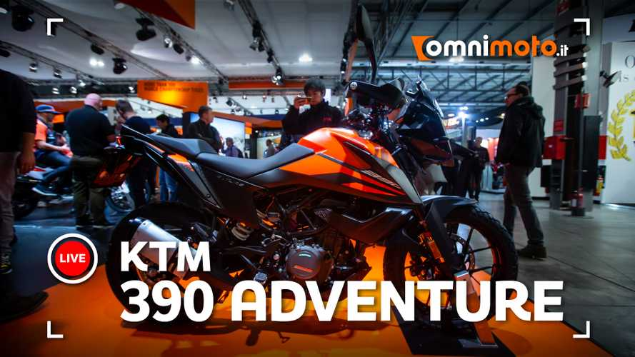 KTM 390 Adventure, la piccola fa sognare in grande