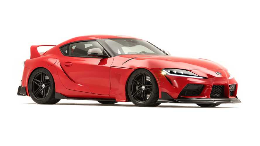 Toyota Supra Heritage Edition revisits its aftermarket roots