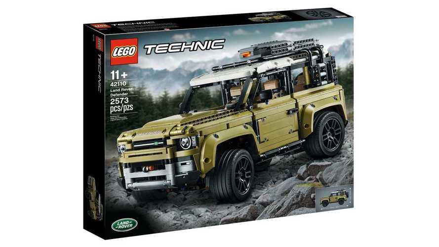 Novo Land Rover Defender aparece antes da hora em kit de Lego