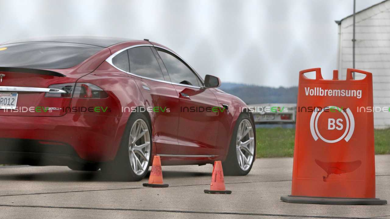 Tesla Model S P100D+ Charges To Life In New Photos