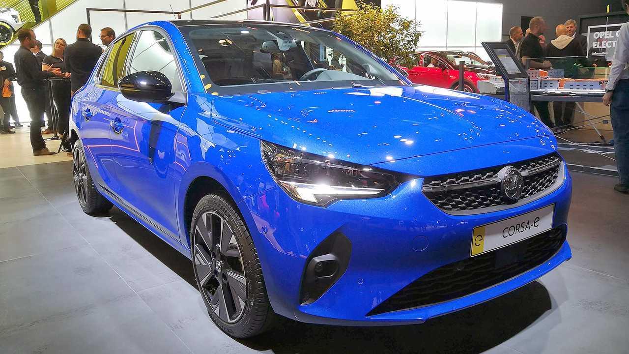 IAA 2019 - Elektroautos: Opel Corsa-e