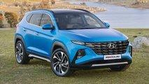 Hyundai Tucson 2021 - Projeção
