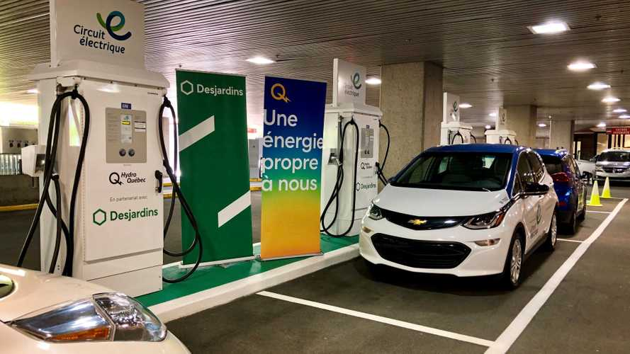 Montreal Gets First Station With Four CHAdeMO/CCS DC Chargers