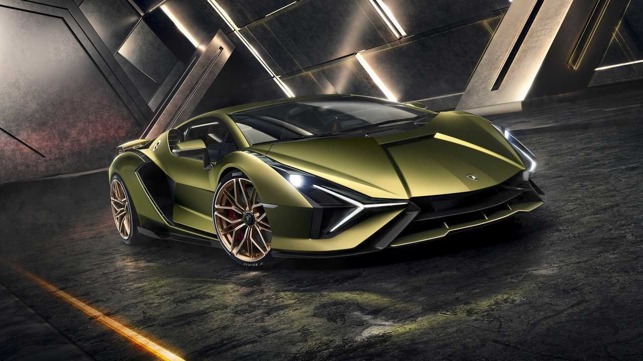 Lamborghini Sian FKP 37 (Frankfurt Otomobil Fuarı 2019)
