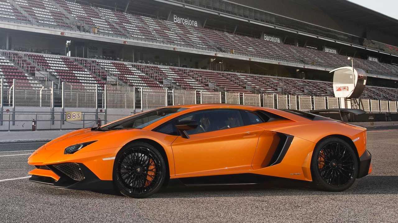 1. Lamborghini Aventador