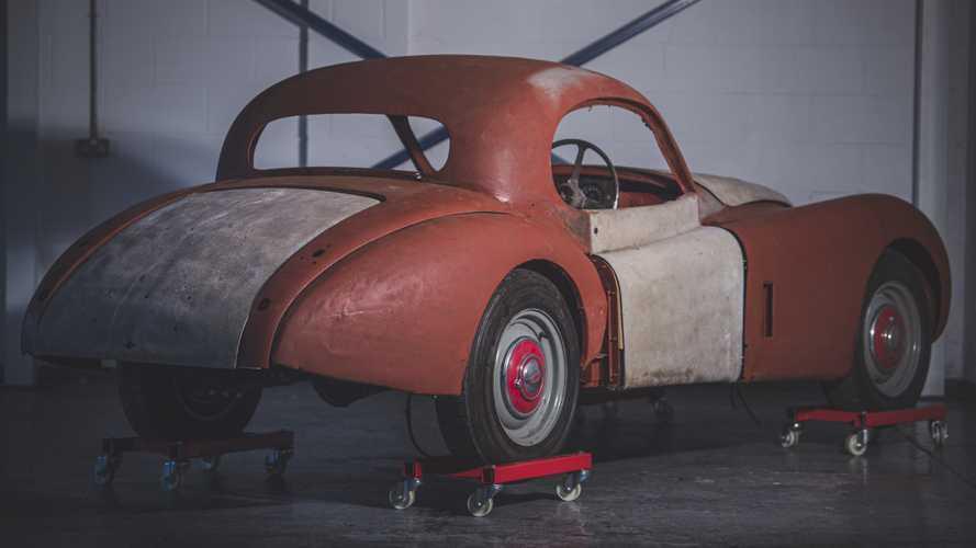 Jaguar XK120 barn find