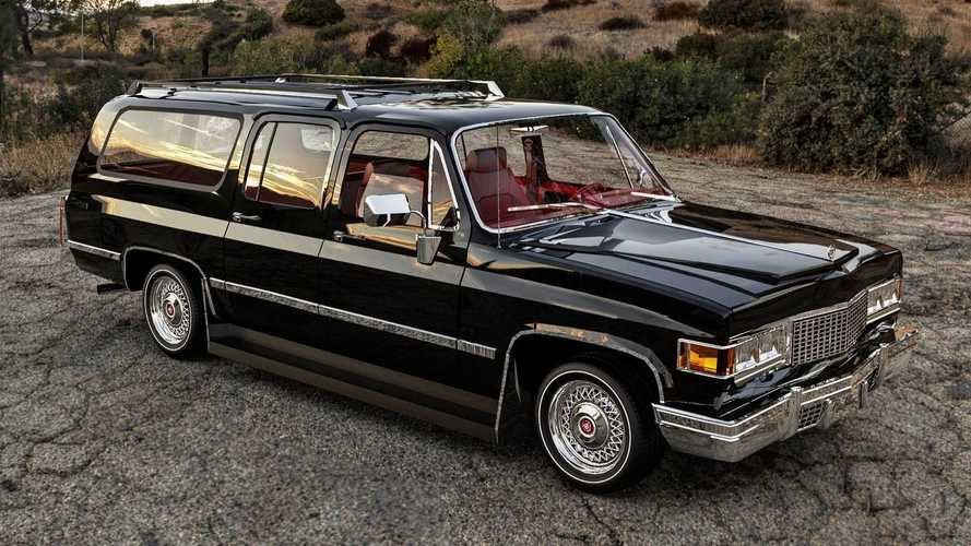 1977 Cadillac Escalade Renderings