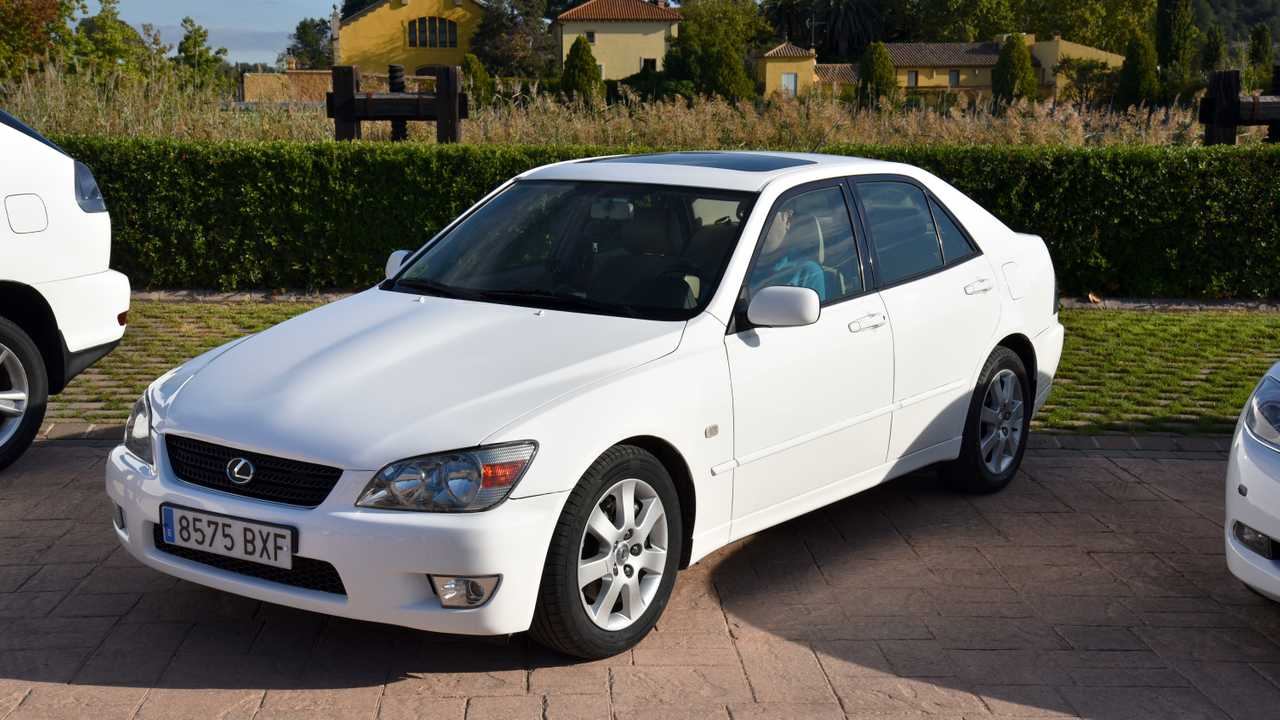 Prueba Lexus IS 200 de primera generación