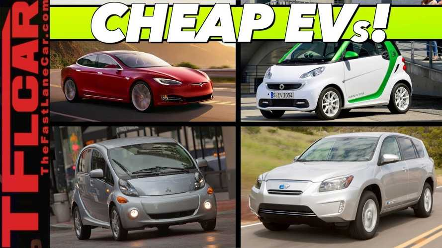 Top 10 Best Electric Car Bargains: Shockingly Low EV Prices