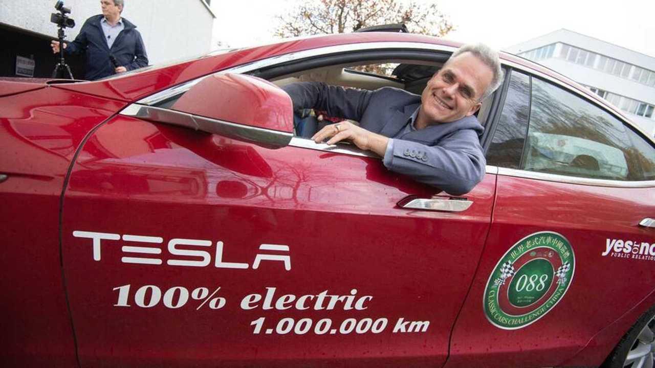 Tesla, una Model S da un milione di km