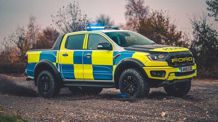Ford Ranger Raptor vira viatura e perseguirá criminosos até na lama